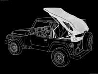 Jeep Wrangler 1997 poster