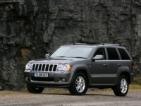 Jeep Grand Cherokee Overland UK Version 2008 poster