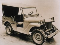 Jeep Willys Quad 1940 poster