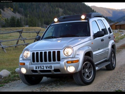Jeep Cherokee Renegade 2003 poster #579216