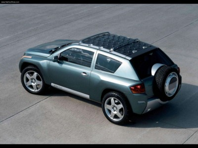 Jeep Compass Concept 2002 poster #579225