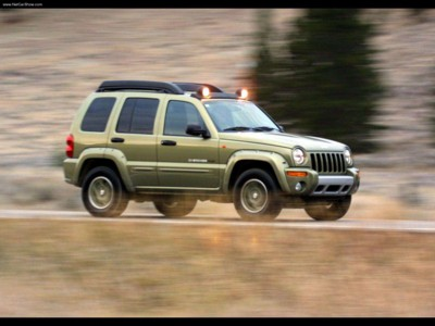 Jeep Cherokee Renegade 2003 poster #579339