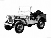 Jeep M-38 1950 poster