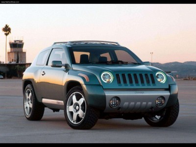 Jeep Compass Concept 2002 poster #579412