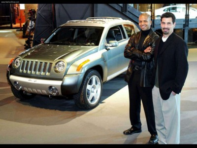 Jeep Compass Concept 2002 poster #579420