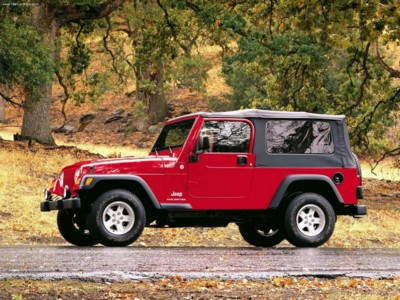 Jeep Wrangler Unlimited 2004 poster #579434