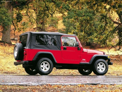 Jeep Wrangler Unlimited 2004 poster #579485