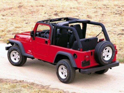 Jeep Wrangler Unlimited 2004 poster #579493