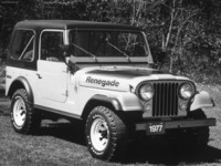 Jeep CJ-7 Renegade 1977 poster