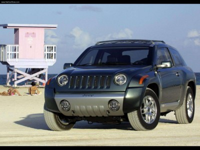 Jeep Compass Concept 2002 poster #579563