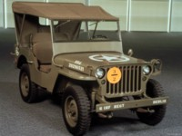 Jeep Willys MB 1943 poster
