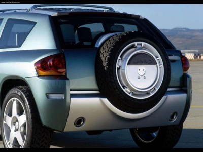 Jeep Compass Concept 2002 poster #579582