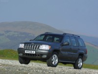 Jeep Grand Cherokee UK Version 2001 poster