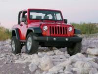 Jeep Wrangler Rubicon 2007 poster