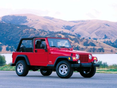 Jeep Wrangler Unlimited 2004 poster #579661
