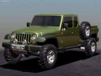 Jeep Gladiator Concept 2005 poster