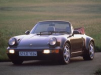 Porsche 911 Carrera 2 Cabrio 1993 poster