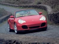 Porsche 911 Turbo Cabriolet 2004 poster