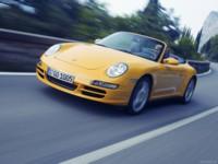 Porsche 911 Carrera 4 Cabriolet 2006 poster