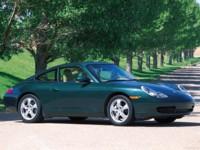 Porsche 911 Carrera 4 Coupe 2001 poster