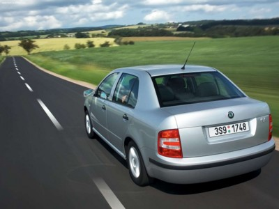 Skoda Fabia Sedan 2005 poster #603804