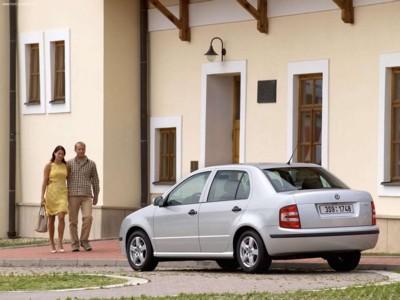 Skoda Fabia Sedan 2005 poster #604694