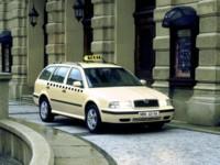 Skoda Octavia TAXI 2001 poster