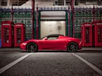Tesla Roadster UK-Version 2010 poster