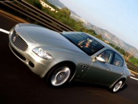 Maserati Quattroporte 2004 poster
