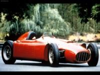 Lancia D50 Formula 1 1954 poster