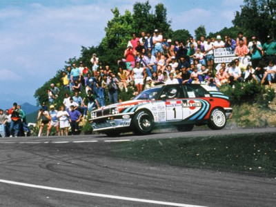 Lancia Delta 1990 poster #617484