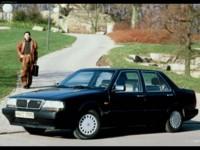 Lancia Thema 1984 poster