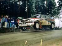 Lancia Delta 1990 poster
