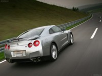 Nissan GT-R 2008 poster