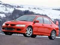 Mitsubishi Lancer Evolution VIII European Version 2004 poster