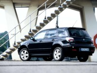 Mitsubishi Outlander Turbo European Version 2004 poster