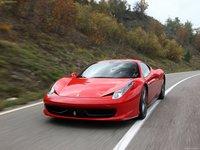 Ferrari 458 Italia 2011 poster