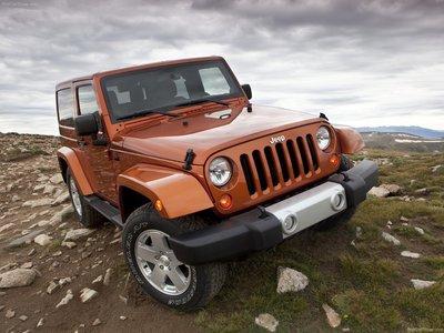 Jeep Wrangler 2011 poster #683094