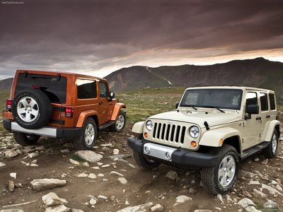 Jeep Wrangler 2011 poster #683103