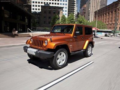 Jeep Wrangler 2011 poster #683110