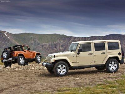 Jeep Wrangler 2011 poster #683136