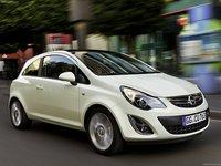 Opel Corsa 2011 poster