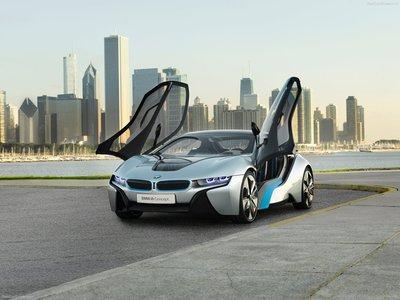 BMW i8 Concept 2011 poster #7932 - PrintCarPoster.com