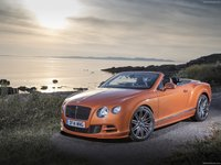Bentley Continental GT Speed Convertible 2015 poster